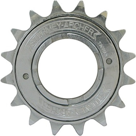 Sunrace Freewheel 19 Tands 1/8 Inch Verchroomd