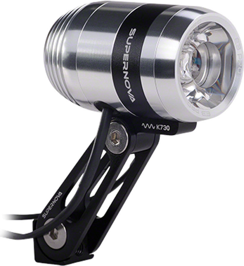 Supernova Koplamp E3 Pro2 Led - Zilver