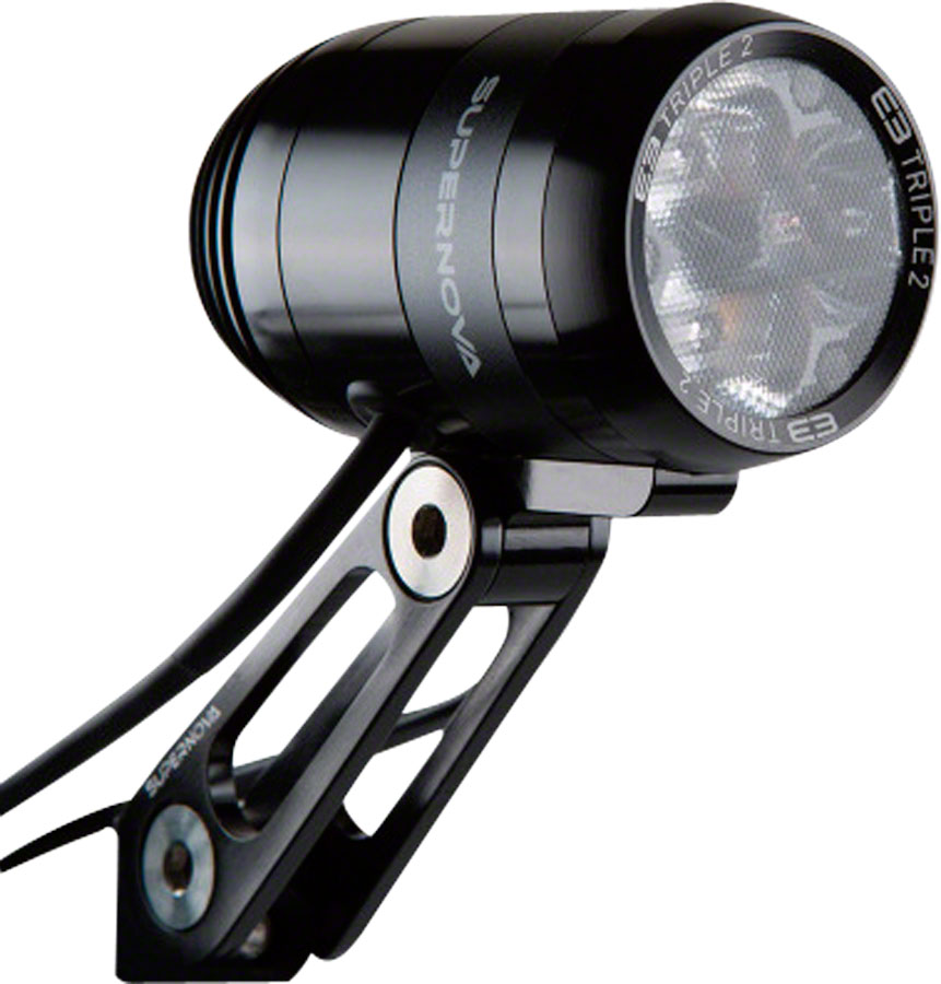 Supernova Koplamp E3 Pro2 Led - Zwart