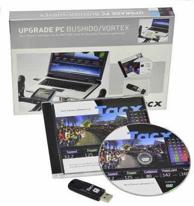 Tacx VR Kit Bushido Vortex V.3 PC Software / Ant+ USB Stick