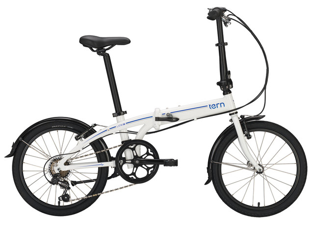 Tern Link B7 Vouwfiets MO 20 Inch 7V - Wit/Blauw