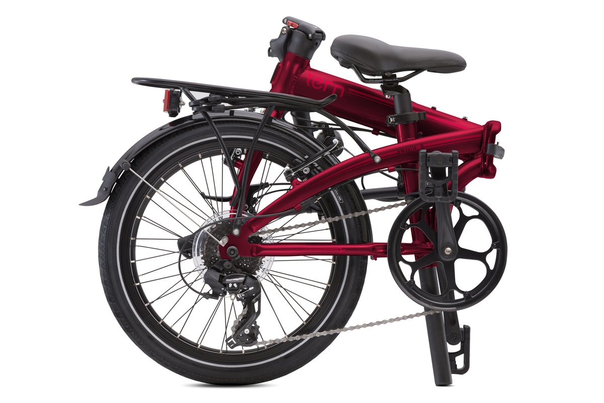Tern Link C8 Vouwfiets 20 Inch 8V - Donker Rood