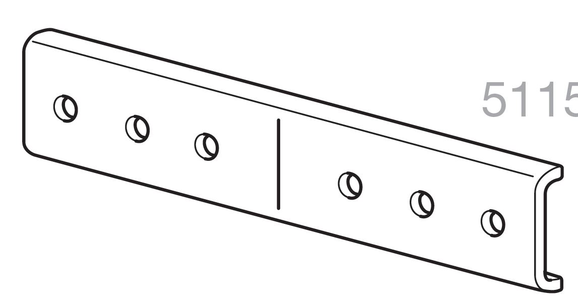 Thule Joint Connection 51153 - tbv. Front Loader Stop 322