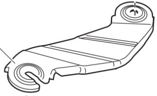 Thule Spare Part 50753 - tbv. Hull-a-Port 835-1