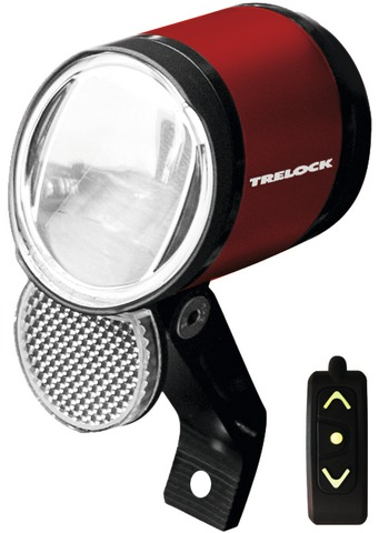 Trelock Koplamp Led Bike-i Prio - Rood Afstandsbediening