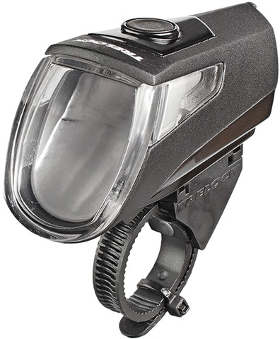 Trelock Koplamp LS 360 I-GO Eco Led - Zwart