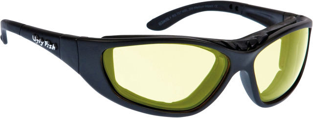 Ugly Fish Ultimate RS707 Zonnebril Geel - Mat Zwart
