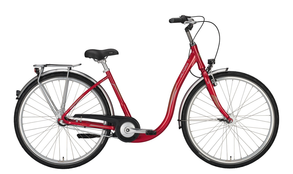 Victoria Urban 1.9/3.4 Lage Instap 26 Inch 44cm 7V - Rood