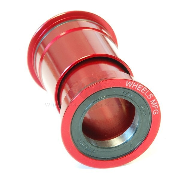 Wheels MFG Zero Ceramic Trapas PressFit 30 - Rood