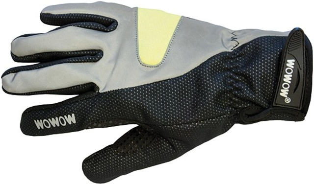 Wowow Handschoen Cycle Gloves 2.0 Reflectie/Zwart - S