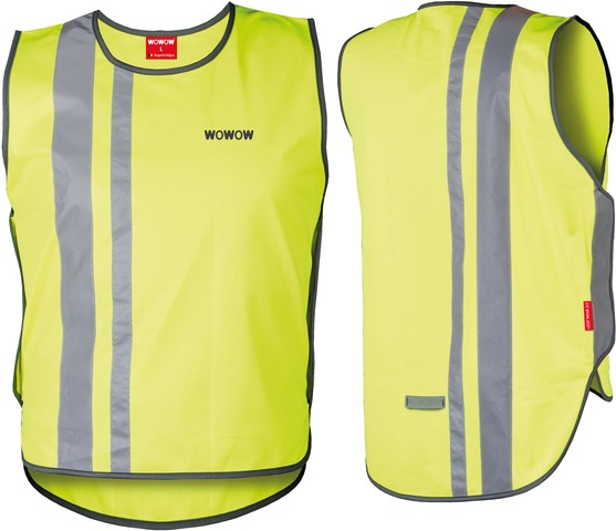 WOWOW Reflecterend Vest Light Wear 2.0 Geel - Maat L
