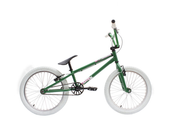 X-4U BMX For the Win 20 Inch Vrijloop - Bottle Green