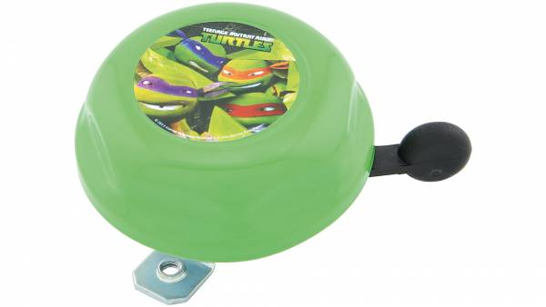 Bike Fashion Kinder Fietsbel Ninja Turtles Groen