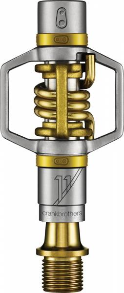 CrankBrothers Pedaal Eggbeater 11 TIT - Zilver/Goud