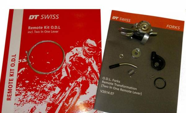 DT-Swiss Remote Kit Open-Drive-Lock 2 in 1 tbv Demper