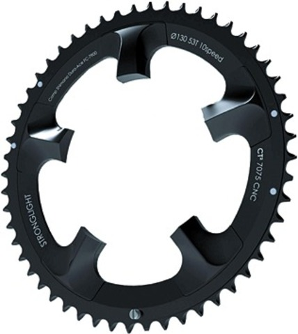 Stronglight Kettingblad CT2 53 Tands Zwart Dura Ace