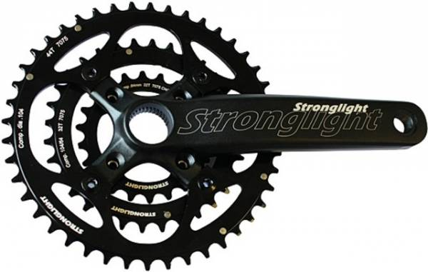 Stronglight Crankstel Lexar Triple 22/32/44 Tands 175mm Zw