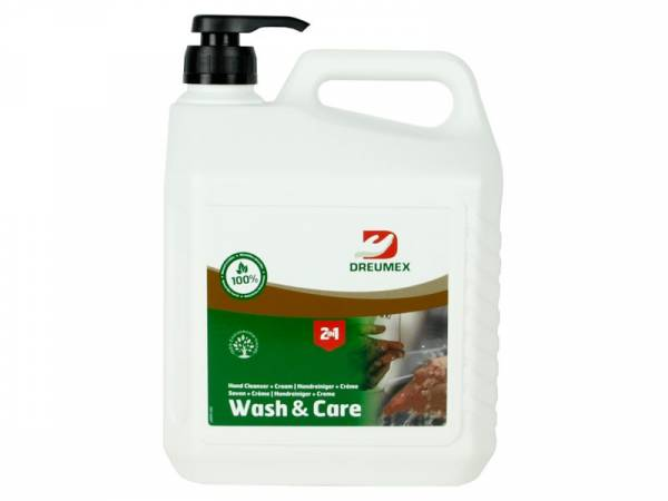 Dreumex Zeep Wash and Care 3 l. Pompflacon