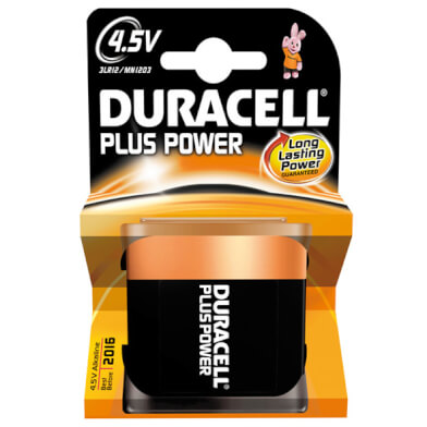 Duracell Batterijen Plus Power 3LR12 4.5V