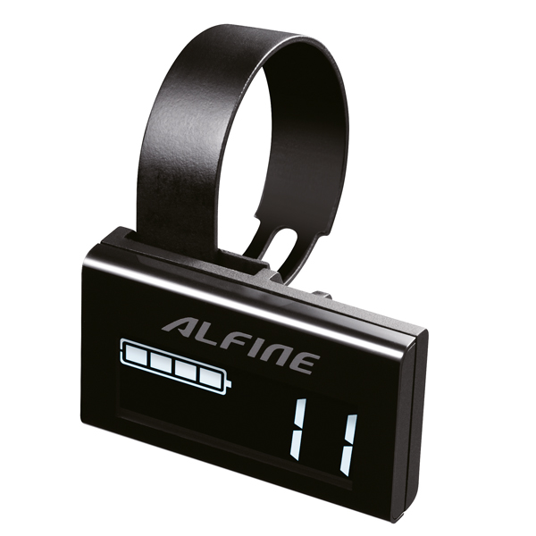 Shimano Info Display Alfine SC-S705 8/11V Di2 - Zwart