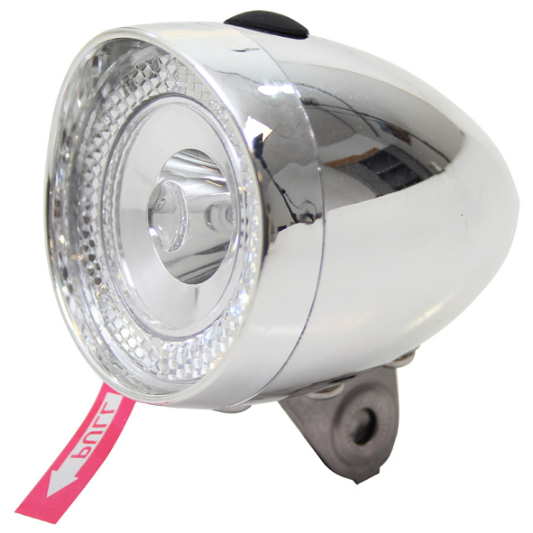 Union Koplamp UN-4956 Retro Mini 3LED - Chroom