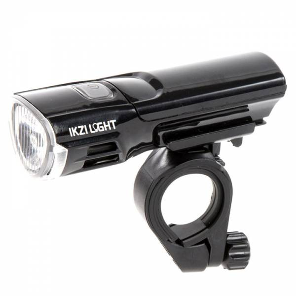 IKZI Koplamp Mr. Brightside 3W LED 3xAAA - Zwart