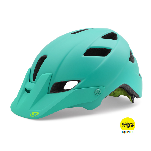 Giro Helm Feather MIPS Mat Turquoise - Maat M 55-59cm