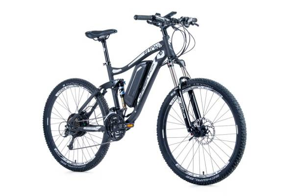 LeaderFox Elton E-Bike 27.5 Inch 9V Disc - Zwart/Wit