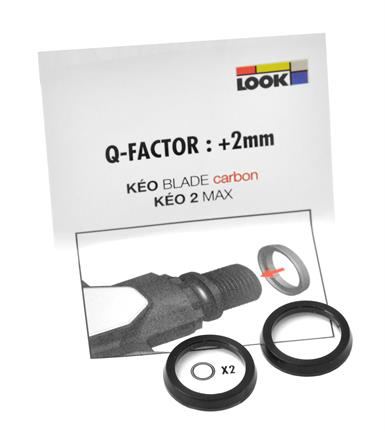 Look Opvulringen tbv. Pedaal - Q-Factor +2mm (2)