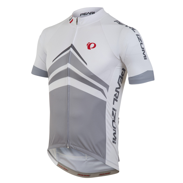 Pearl Izumi Elite Pursuit LTD Fietsshirt KM Wit - S
