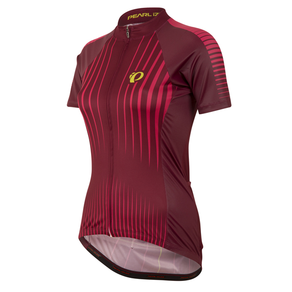 Pearl Izumi Fietsshirt Elite Pursuit Dames - Donkerrood - L