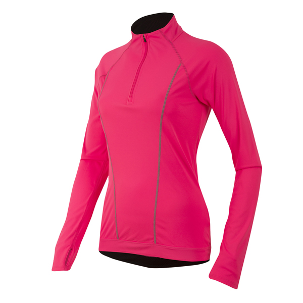 Pearl Izumi Pursuit Running Shirt Dames Roze - Maat M