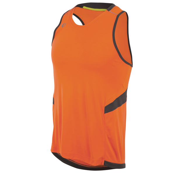 Pearl Izumi Pursuit Running Singlet Orange - Maat M