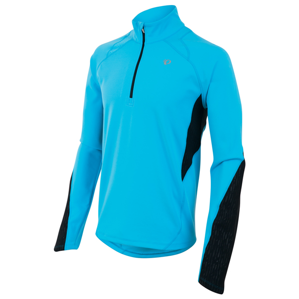 Pearl Izumi Running Shirt Fly Thermal LM Blauw/Zwart - M