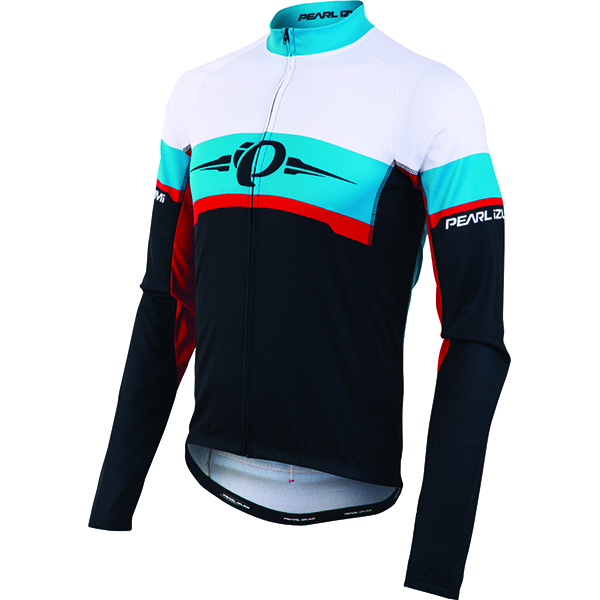 Pearl Izumi Shirt Elite Thermal LTD Blauw LS - Maat XL