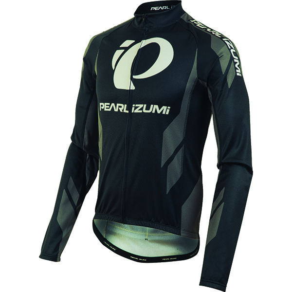 Pearl Izumi Shirt Elite Thermal LTD Shadow Gray LS - Maat L