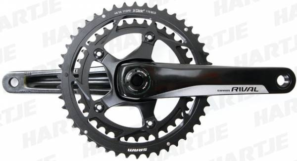 Sram Crankstel Rival 22 BB30 36/52T 175mm 11V Steek 110mm