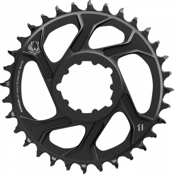 Sram Kettingblad X-Sync 38T 7mm Offset 11V steek 110 - Zwart