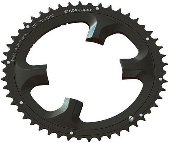 Stronglight Kettingblad E-Shifting CT2 52 Tands Dura Ace