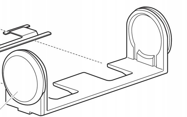 Thule Dop 50756 - tbv. Fold Down Load Stop 315
