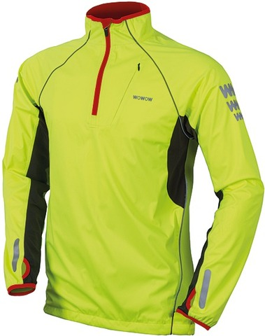 Wowow Fietsshirt LM Thermo Shirt Reflectie - Maat XL