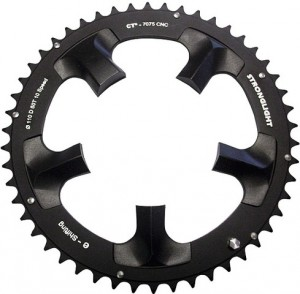Stronglight Kettingblad E-Shifting CT2 53 Tands Dura Ace Zw