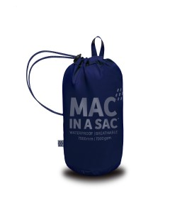 Mac in a Sac Regenjas Navy - Maat XXL