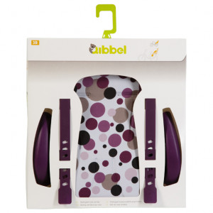 Qibbel Stylingset Luxe Dots Paars t.b.v. Achterzitje