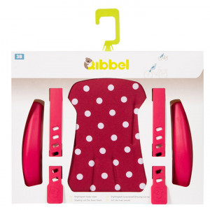 Qibbel Stylingset Voorzitje Luxe Polka Dot Rood