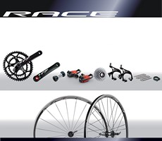 Miche Groepset Racing + WR1803 Wielset Shimano