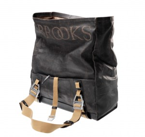 Brooks Fietstas Hampstead Canvas Zwart