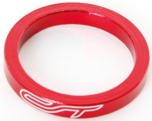 Contec Spacer Set 1 1/8 Inch 3x5/1x10/1x15mm Alu - Rood