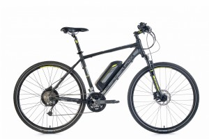LeaderFox Barnet Cross E-Bike Heren 51cm 27V Disc - Zwart