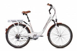 LeaderFox Lotus E-Bike 26 Inch 48cm 7V - Wit